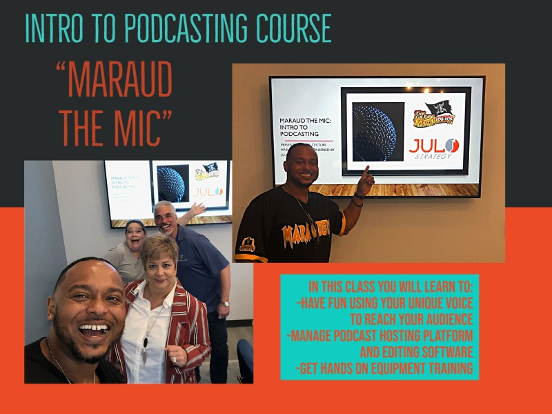 podcast training Tampa Bay Area