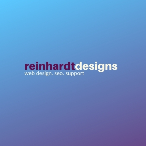 Reinhardt Designs web design